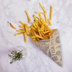 Sült krumplis tölcsér