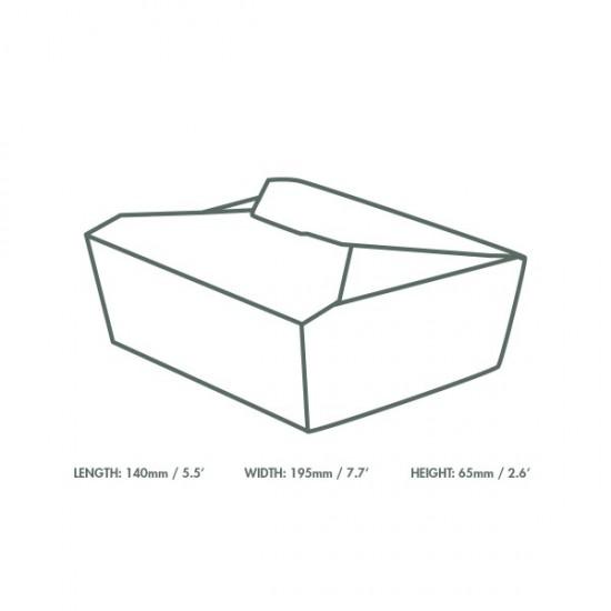 18 dl-es karton ételdoboz
