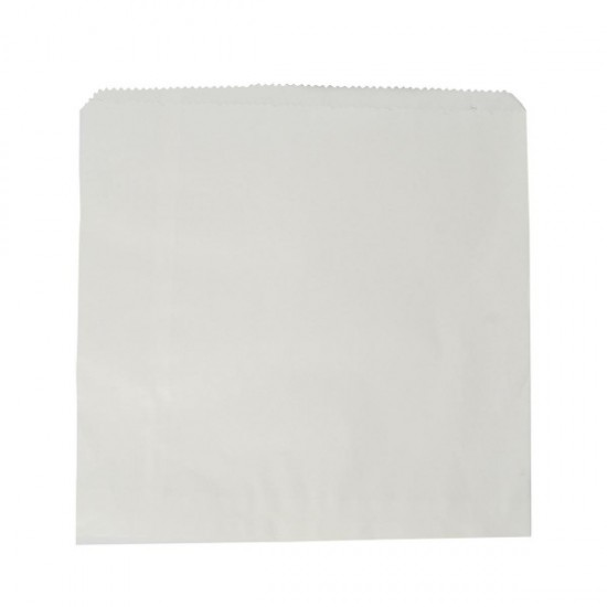 Fehér zacskó, 25,4x25,4 cm