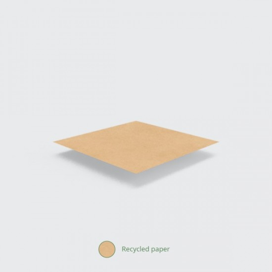 Barna zacskó, 25,4x25,4 cm