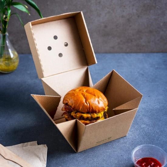Prémium hamburgeres doboz
