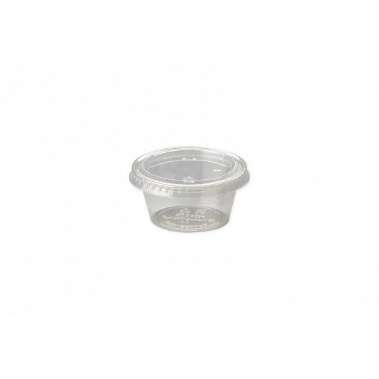 PLA szószos tető, 0,6 dl-es tálkához