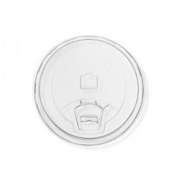 PLA lapos tető, ivó-lyukkal, 96 mm