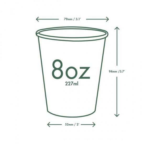 2,3 dl-es barna cappuccinos pohár