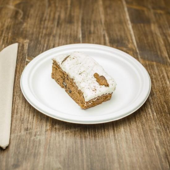 17 cm-es, cukornád lapostányér