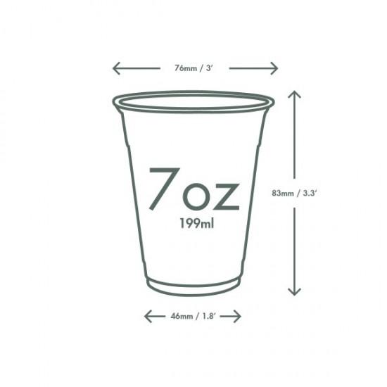2 dl-es PLA pohár
