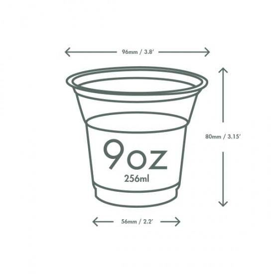 2,5 dl-es PLA desszertes pohár