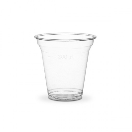 2 dl-es PLA pohár, szintjelzéssel