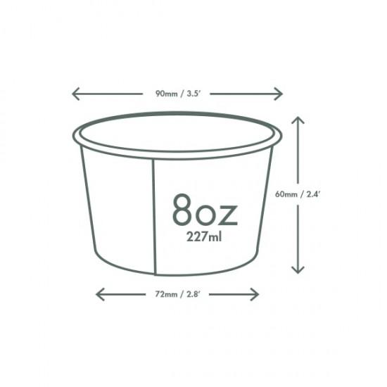 2,3 dl-es leveses tál