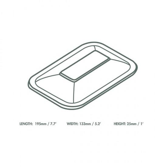 V3 átlátszó PLA tető