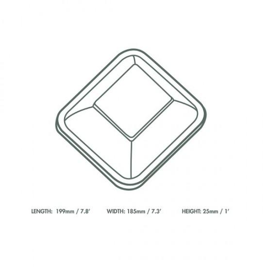 V4 átlátszó PLA tető