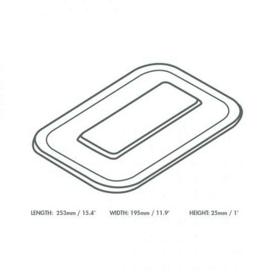 V5 átlátszó PLA tető