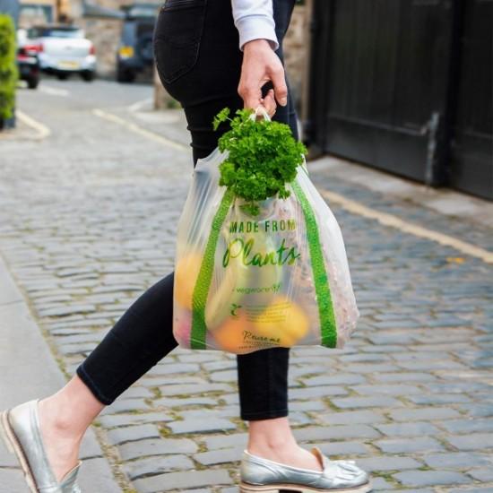 Komposztálható bevásárlótáska