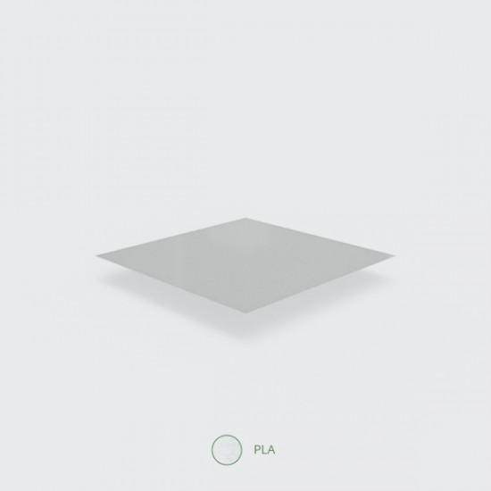 Átlátszó/fehér zacskó, 26x26 cm