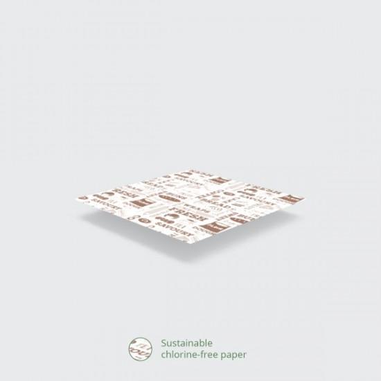 Mintás zsírpapír-BAKERY, 40x30 cm