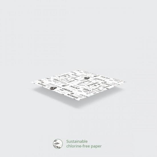 Mintás zsírpapír-GRILL, 40x30 cm