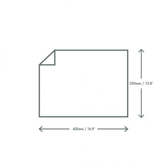 Zsírpapír, 43x35 cm