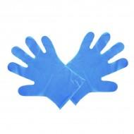 Kék, közepes kesztyű