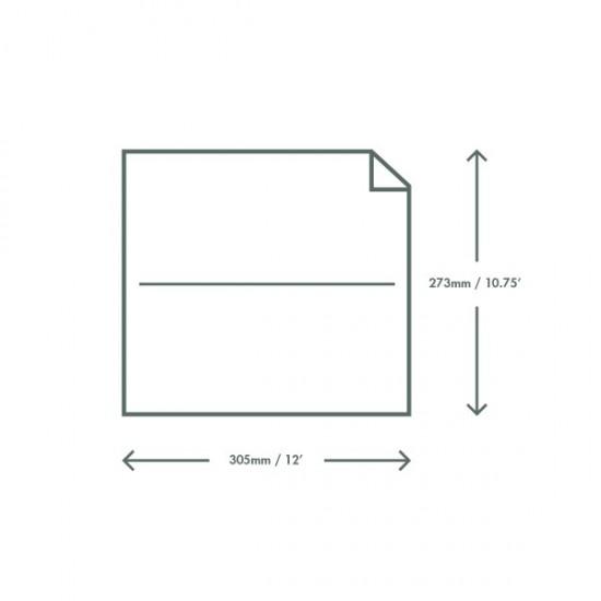 Viaszos kraft deli papír, 27x30 cm