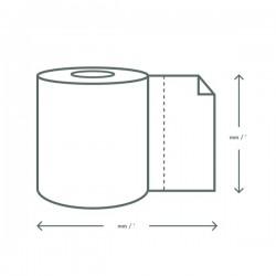 Kétrétegű kraft papírtörlő