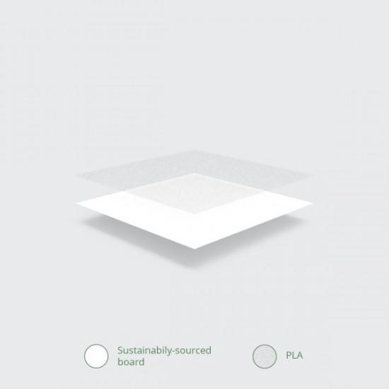 Nagy, papír leveses tető