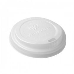 CPLA anyagú fehér kávés pohártető