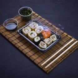 Kicsi, fedeles sushi tálca