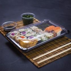 Nagy, fedeles sushi tálca