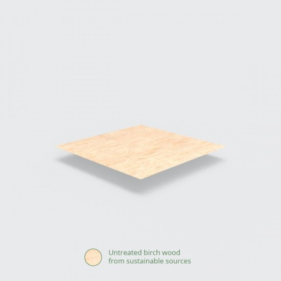 Fából készült villa