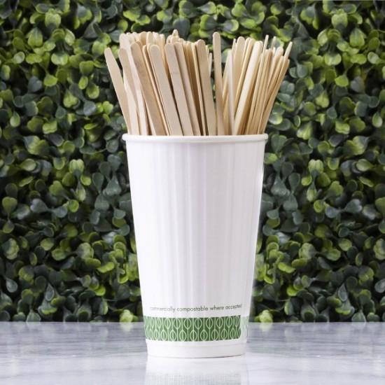 19 cm-es kávés keverőpálcika