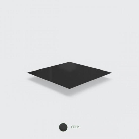 Fekete, CPLA anyagú kanál