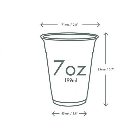 Vékony falú PLA pohár