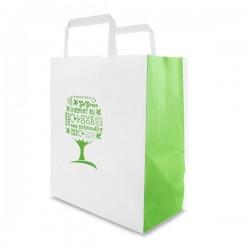 Közepes papírtáska- Green Tree