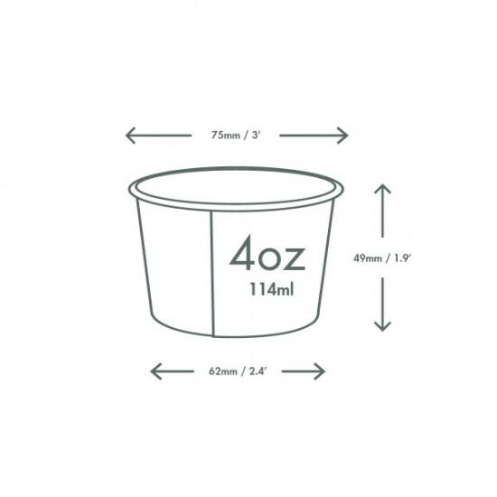 1,1 dl-es fagyis tálka